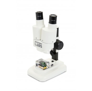 Celestron Labs S20 - Stereo Microscope (Worldwide Model – 5-Language)