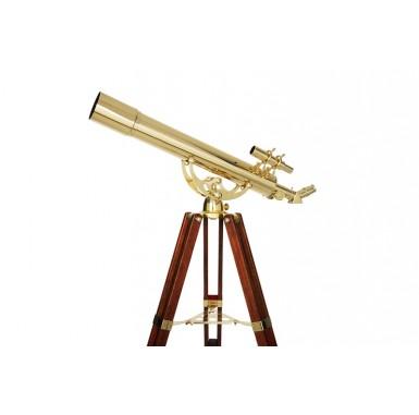Ambassador 80 AZ Brass Telescope